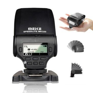 Flash Meike MK-320 para Sony A6600