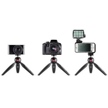 Manfrotto Pixi Mini Tripod Black for Canon LEGRIA FS37