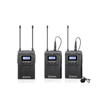 Boya BY-WM8 Pro-K2 UHF Dual Channel Wireless Lavalier Microphone