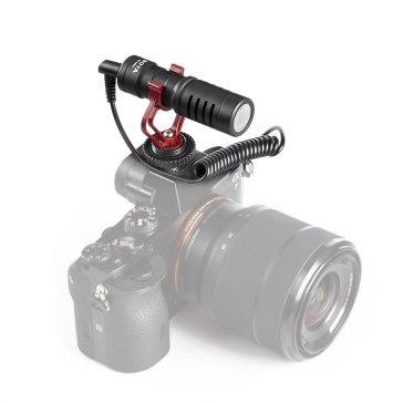Boya BY-MM1 Micrófono direccional para Canon EOS R