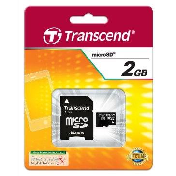 Memoria microSD Transcend 2GB para Ricoh WG-M1