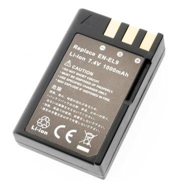 Batería de Litio Nikon EN-EL9 Compatible