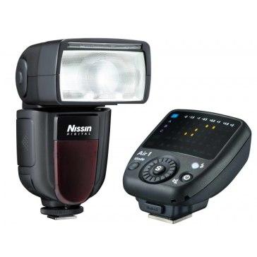 Flash Nissin Di700A + Disparador Commander Air para Nikon