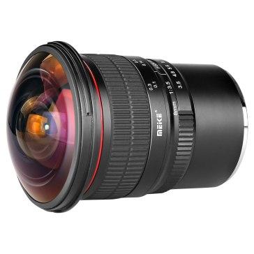 Objetivo Ojo de Pez 8mm para Sony A6600