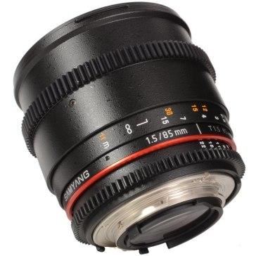 Samyang 85mm T1.5 VDSLR  para Nikon D7100
