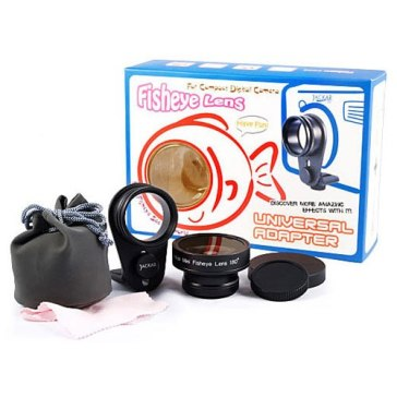 Kit Ojo de Pez Universal para Kodak EasyShare DX4530