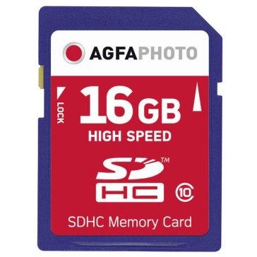 Memoria SDHC AgfaPhoto 16GB Clase 10 MLC