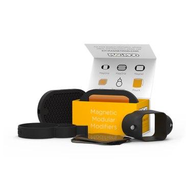 Kit modificadores de luz para flashes de zapata MagMod 2 para Ricoh Caplio RR750