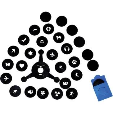 Kit Bokeh con formas para los puntos de luz