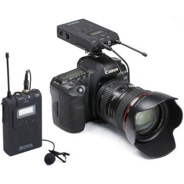 Boya BY-WM6 Wireless Microphone for Canon EOS 5D Mark II