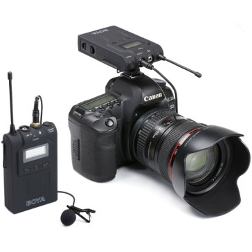 Boya BY-WM6 Wireless Microphone for Canon LEGRIA HF M31