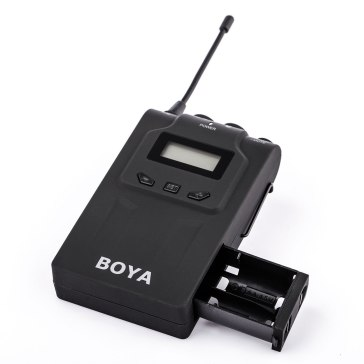 Boya BY-WM8 Duo UHF Wireless Lavalier Microphone for Canon EOS 5D Mark II