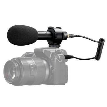 Boya BY-PVM50 Stereo Condenser Microphone for Canon Powershot G3 X