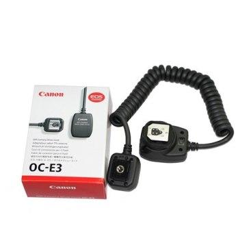 Cable TTL Canon OC-E3 para flash para Canon Powershot SX60 HS