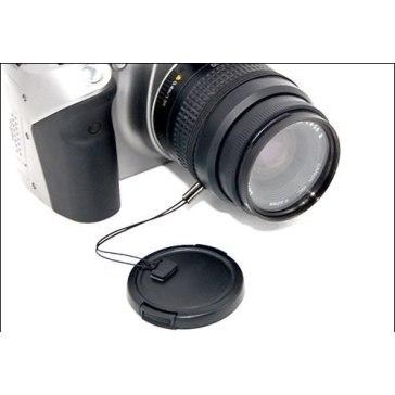 Correa para tapa de objetivo para Nikon D7100