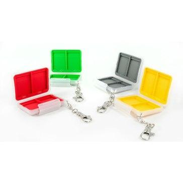 Estuche para tarjetas SD Gloxy para Ricoh Caplio R30