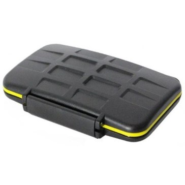 Memory Card Case for 8 SD Cards for Canon Powershot SX410 IS