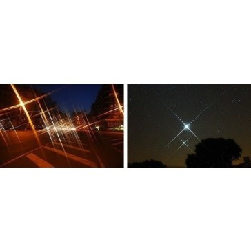 4 Pointed Star Filter for Canon LEGRIA HF S200
