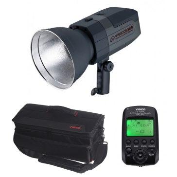 Visico 5 Flash de estudio Inalámbrico TTL Canon