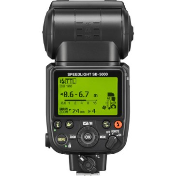 Flash Nikon SB-5000 para Kodak DCS Pro 14n