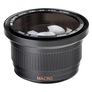 Fish-eye Lens with Macro for Canon LEGRIA HF S20