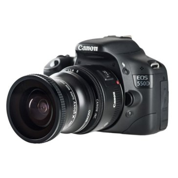 Lente ojo de pez + Macro para Kodak DCS Pro SLR