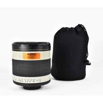Kit Gloxy 500mm f/6.3 + Trípode GX-T6662A para Samsung NX2000