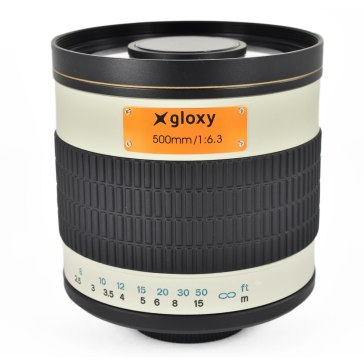 Teleobjetivo Canon M Gloxy 500mm f/6.3 Mirror