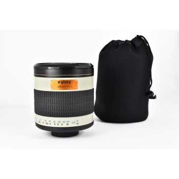 Gloxy 500mm f/6.3 Mirror Telephoto Lens for Canon for Canon EOS 5D