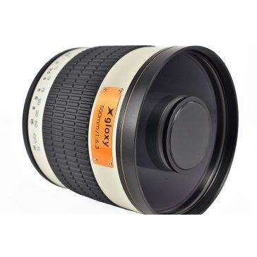Kit Gloxy 500mm f/6.3 + Trípode GX-T6662A para Nikon D610