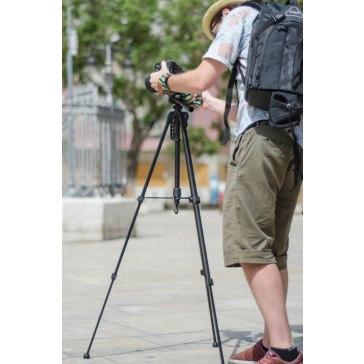 Trípode Gloxy GX-TS270 + Cabezal 3D para Kodak EasyShare Z1012 IS