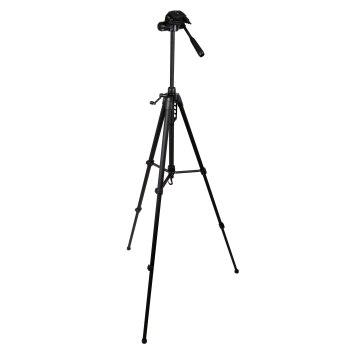 Gloxy Deluxe Tripod with 3W Head for Canon LEGRIA FS36