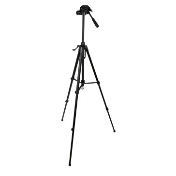 Gloxy Deluxe Tripod with 3W Head for Canon LEGRIA HF S20