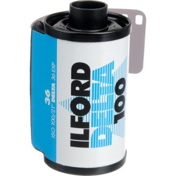 Película analógica Ilford 100 Delta 35mm B/N