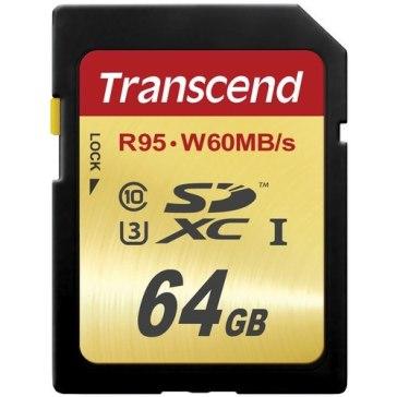 Memoria SDXC Transcend 64GB UHS-I Speed
