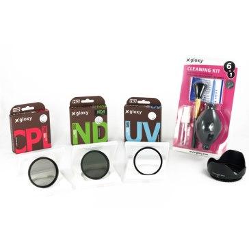 Kit Starter de 10 piezas para cámaras para Kodak EasyShare Z710