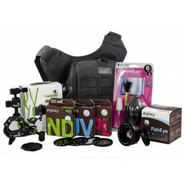 Kit de 15 piezas para cámaras réflex 58mm Black