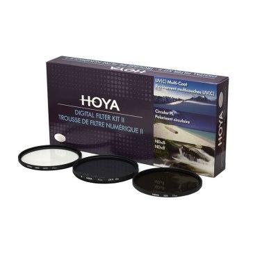 Kit de 3 Filtros Hoya UV + CPL + ND8 para Ricoh GXR / GR A12