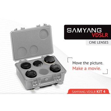 Kit Samyang para Cine 14mm, 24mm, 35mm, 16mm, 500mm para Nikon D7100