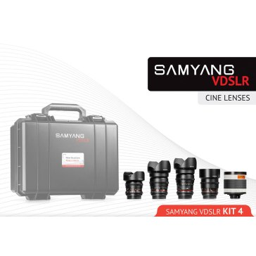 Samyang Cinema Kit 4 14mm, 24mm, 35mm, 16mm, 500mm Nikon
