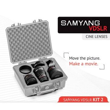 Kit Samyang para Cine 14mm, 35mm, 85mm Sony E para Sony A6100