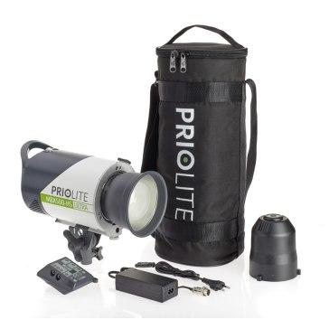 Kit de flash Priolite MBX 500 Hot Sync ULTRA2GO para Sony