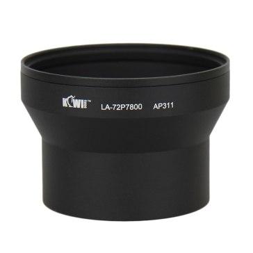 Kiwifotos Lens Adapter Tube for Nikon Coolpix P7700 / P7800 72mm