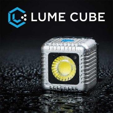 Antorcha LED Lume Cube Plata