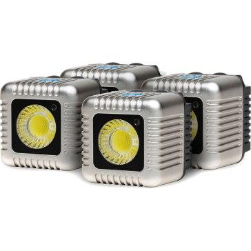 Antorchas LED Lume Cube Kit 4x Plata