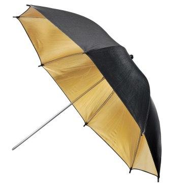 Paraguas reflector Visico Dorado/Negro UB-006G 110cm