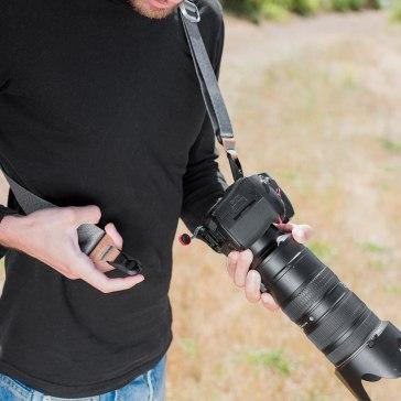 Peak Design SLIDE V2 Correa Gris ceniza para Sony A6100