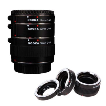 Kooka AF KK-C68 Extension tubes for Canon  for Canon EOS 40D