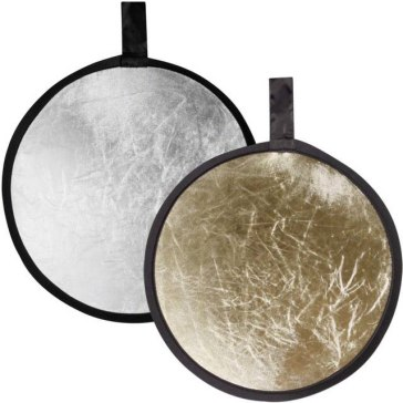 Reflector plegable Walimex Oro/Plateado 30 cm