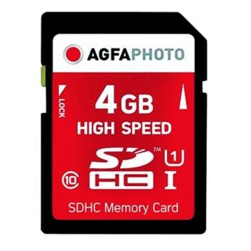 AgfaPhoto SDHC 4GB Class 10 MLC Memory Card